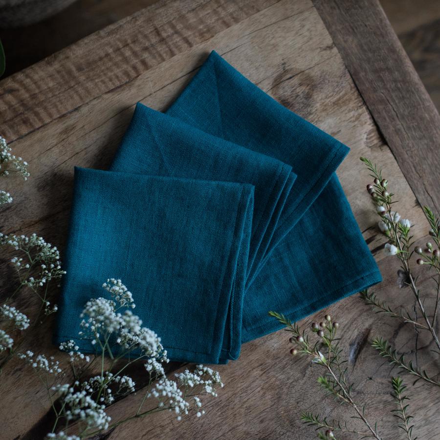 serviette de table lin