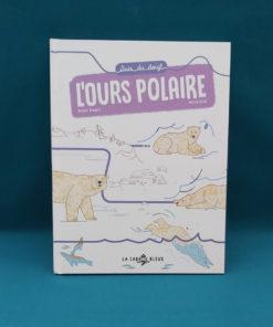 Suis du doigt l'ours polaire