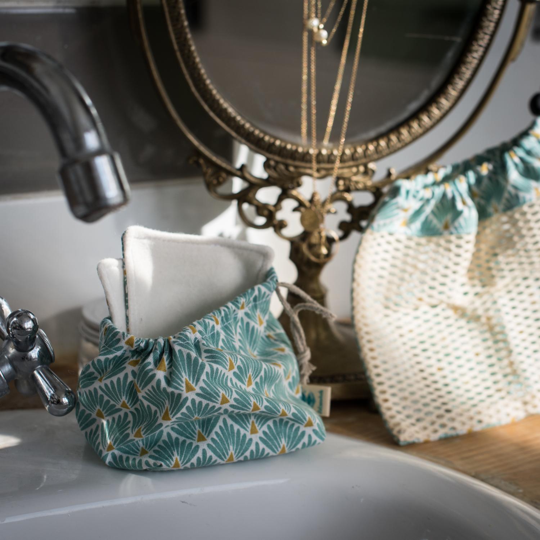bourse lingettes lavables