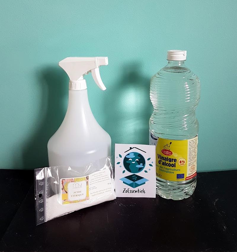kit vitres et nettoyant wc produits pour un m nage au naturel zoessentiels. Black Bedroom Furniture Sets. Home Design Ideas