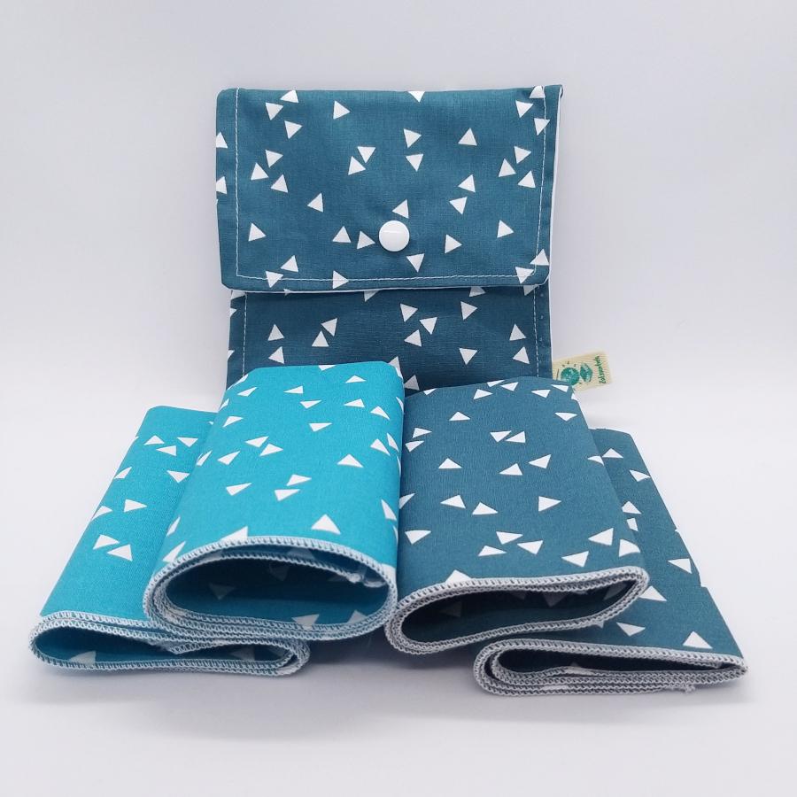 mmouchoirs lavable & pochette