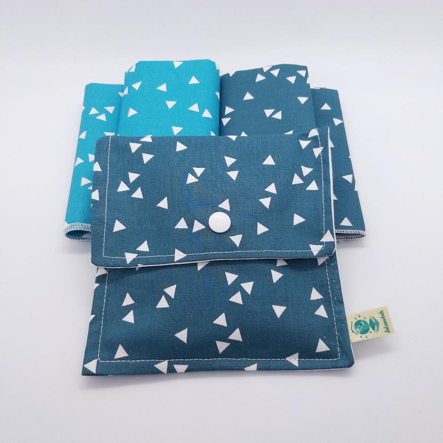 mouchoirs lavable & pochette