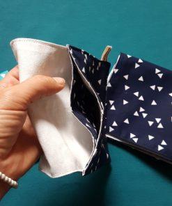 box mouchoir tissu