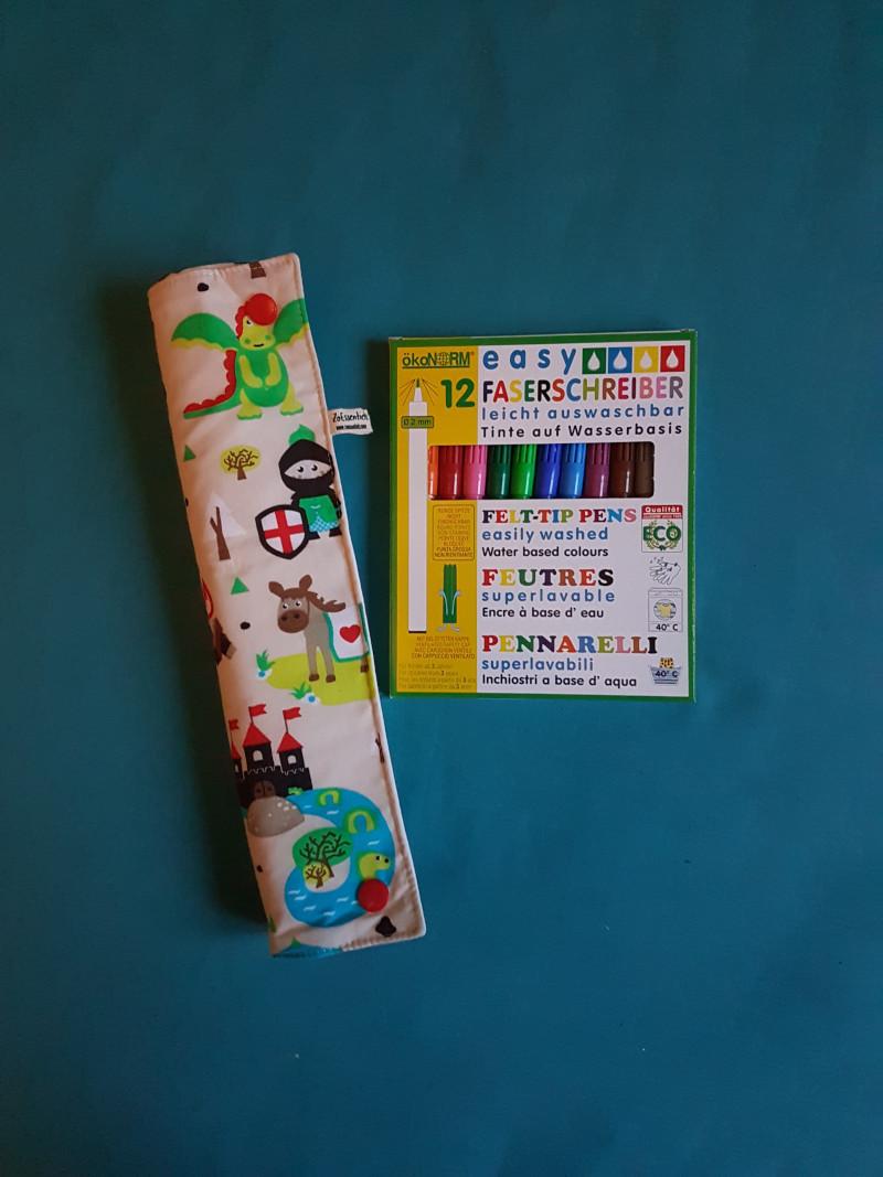 box rouleau coloriage et feutres lavables