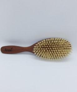 brosse bois cheveux fins