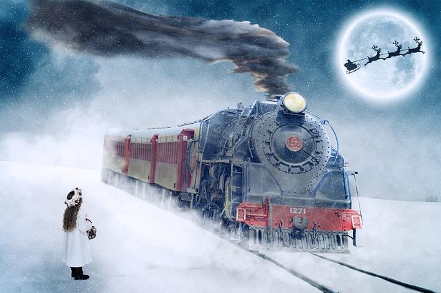 train de Noel