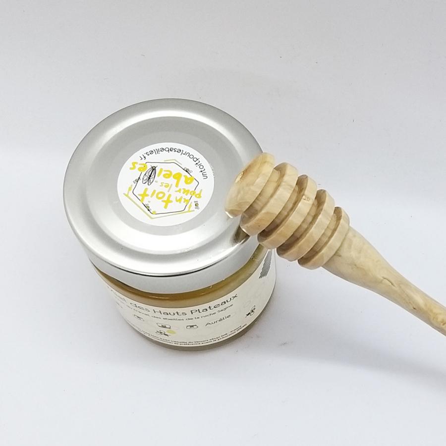 Emball/és Individuellement Naturel Cuill/ère /à Miel en Bois Pour la Bocal de Miel Distribuent Drizzle Miel Faveurs De F/ête De Mariage 10cm WZYTEU 35 pcs Cuillere a Miel
