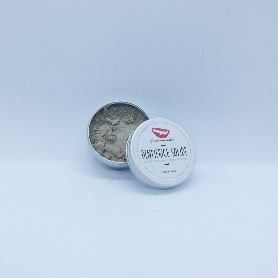 dentifrice solide menthe poivrée