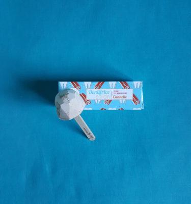 dentifrice solide à la cannelle