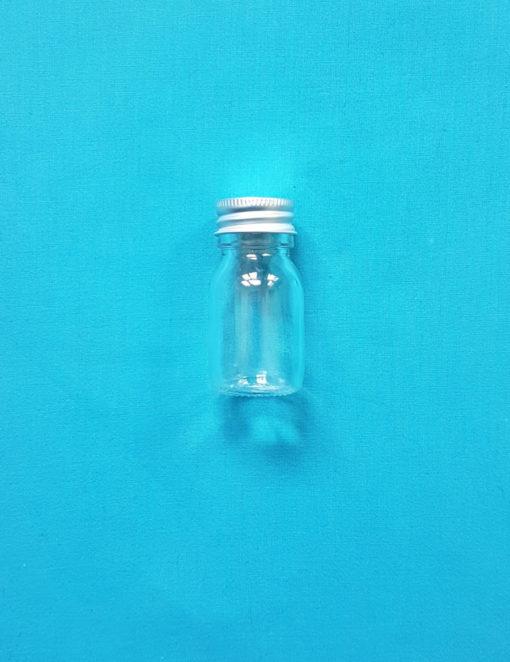 flacon en verre zero dechet