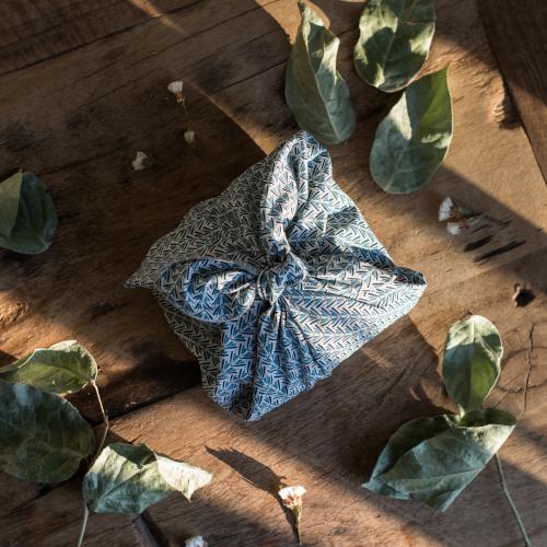 emballage cadeau réutilisable