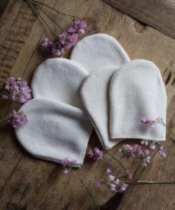 gant démaquillant lavable