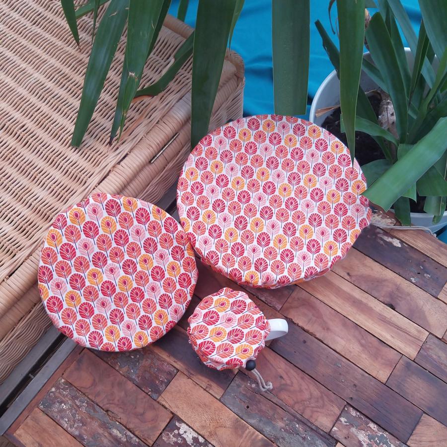couvre plat ajustable zéro déchet