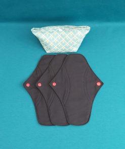 serviette hygienique lavable