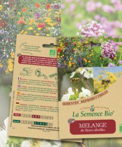 mélange fleurs abeilles bio