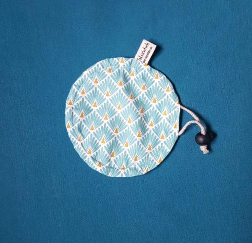mini couvre plat ajustable