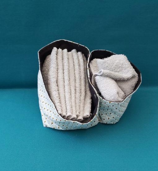 panières essuies tout lavables