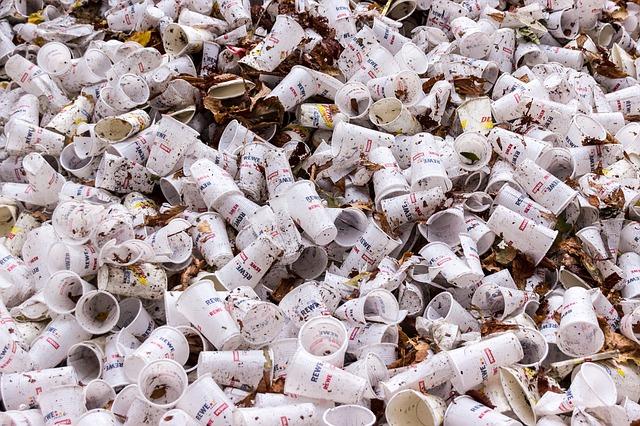 déchets au travail