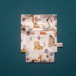 pochettes tissus zero dechet