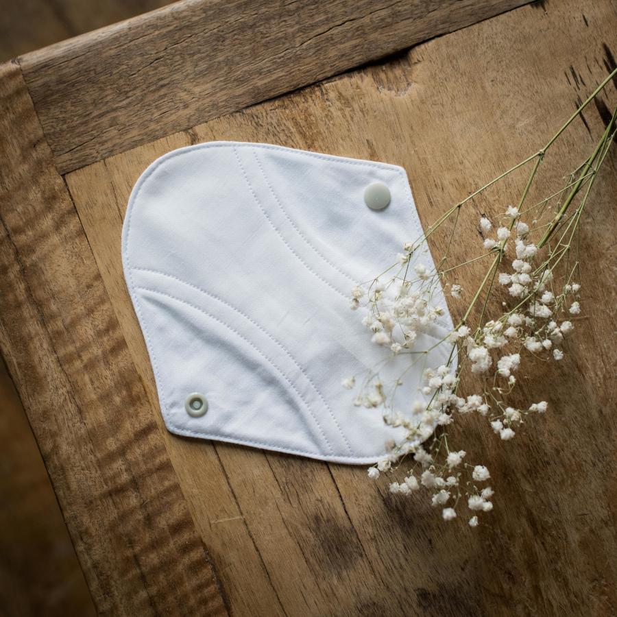 protège slip lavable blanc