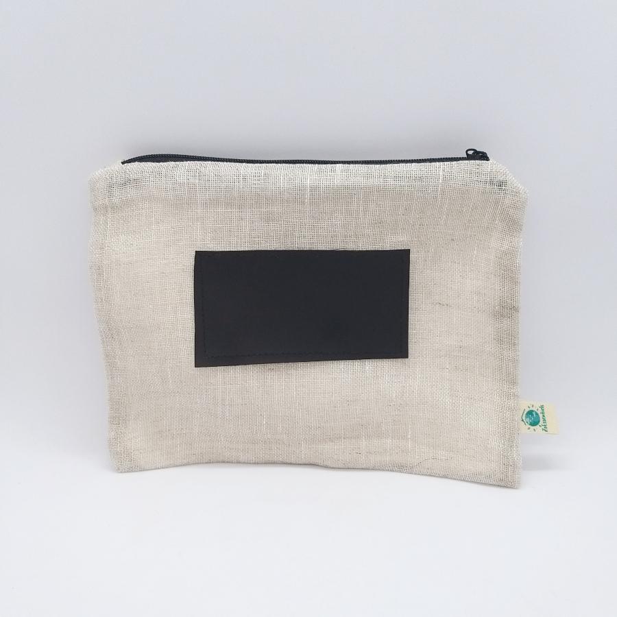 sac de congélation lavable lin