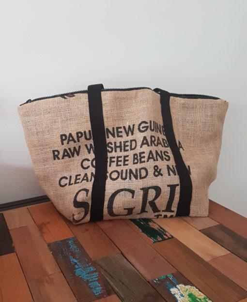 sac toile de jute zero dechet