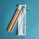 paille bambou enfant